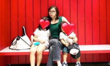 加護亜依の娘がかわいい!(加護亜依と娘と息子の画像)