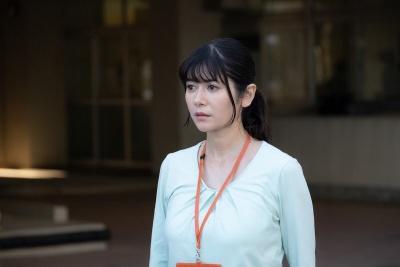 【動画】真木よう子の滑舌の悪さの理由は③姿勢が悪く呼吸が浅い(青のSP画像)