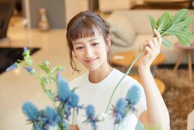 前田有紀が花屋を経営している画像