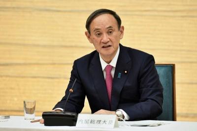 菅義偉総理の画像