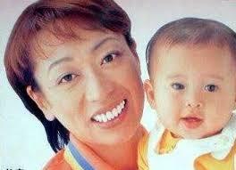 橋本聖子と子供の画像
