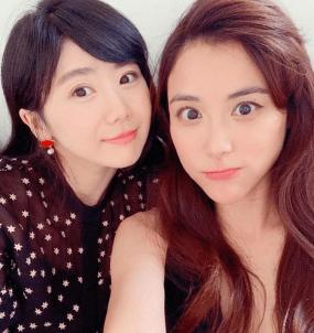 愛ちゃんと義理姉・江恆亘の画像