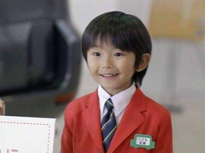 加藤清史郎の子役時代こども店長の画像