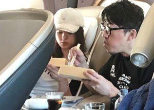 深田恭子と杉本宏之の金沢旅行画像