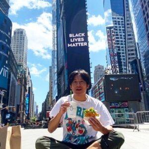 小出恵介のアメリカ・ニューヨーク留学画像