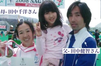 田中希実が男顔と言われる理由③父親にそっくり画像