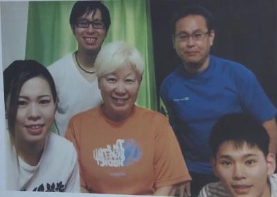西田有志と母親の画像