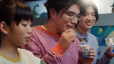 片桐仁の親子CM画像