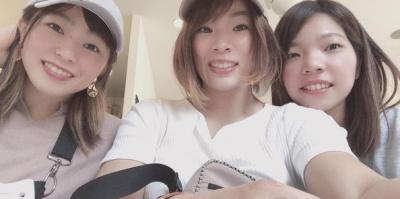 川井梨紗子と姉妹の画像