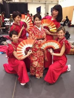 柚木亜里紗の舞台出演時の画像