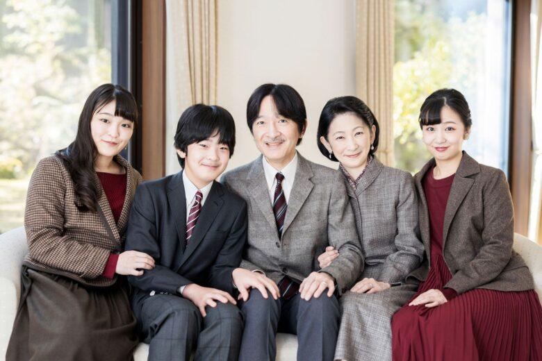 秋篠宮家の画像