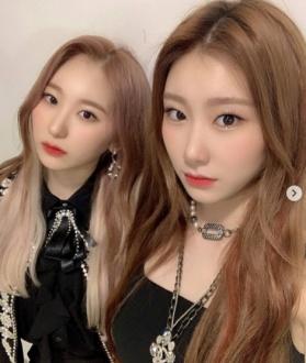 チェヨンとチェリョンの姉妹画像