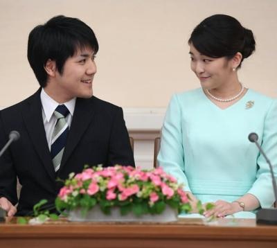 小室圭と眞子さまの画像